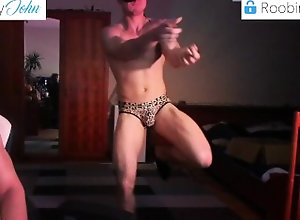 uncut;jockstraps;dancing;dancing-naked;funny;naked-funny,Gay;Straight Guys;Amateur;Uncut;Verified Amateurs TIKTOK DANCER is...