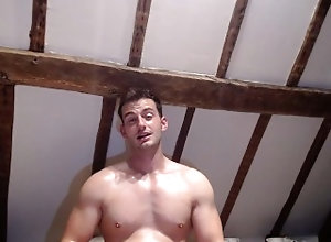 european;faggot-humiliation;poppers;flexing;oil;poppers-training;poppers-intox;poppers-instruction;humiliation;oiled-muscles;muscles;biceps;oil-fetish;oily;oiled-up;alpha,Euro;Muscle;Fetish;Solo Male;Gay;Hunks;Amateur;Jock CAUTION: FAG...