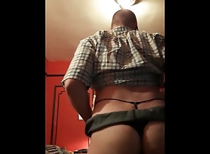 asscheeks;asshole;butt;bending;over;dildo;twink;solo;male;teasing;gstring,Bareback;Twink;Solo Male;Gay;Public;Tattooed Men;Verified Amateurs RedSer stripping...