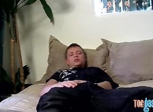 toegasms;toes;feet;fetish;foot;fetish;feet;fetish;jock;cumshot;solo;masturbation;big;dick;big;cock,Solo Male;Big Dick;Pornstar;Gay;Jock;Cumshot;Feet,Micah Andrews Cute twink jerks...