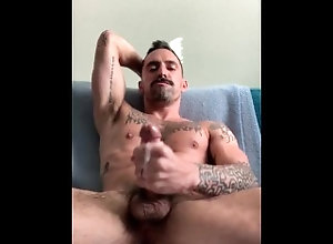 stroke;hairy-pits;pits;hairy-arm-pits;cum;jerk-off,Daddy;Muscle;Solo Male;Gay;Hunks;Amateur;Tattooed Men;Verified Amateurs Afternoon stroke...
