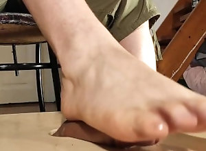 big-cock;cumshot;bare-foot;bare-feet;sensual;footjob;soles;solejob;gay;slave;dominant-male;hungarian;huge-cumshot;foot-fetish;cum-control;pov,Daddy;Big Dick;Gay;Reality;Amateur;Uncut;POV;Feet Cock milking...