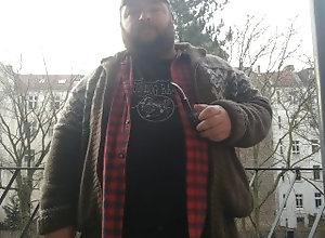 kink;fat;bear;tubbs;pipe,Solo Male;Gay Burlin pipe clip