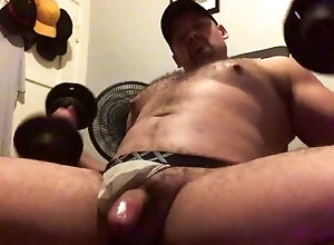 latin;hairy;beefy;muscle;sweaty;daddy;jock;workout;cumshot;gym;home;gym;jockstrap;pits;armpits;bro,Daddy;Latino;Muscle;Solo Male;Gay;Bear;Hunks;Jock;Cumshot Sweaty Muscle...