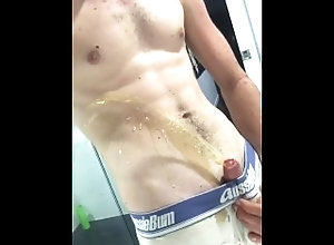 piss;self;piss;long;piss;watersports;golden;shower;aussiebum;aussie;bathroom;piss;play;big;dick,Fetish;Solo Male;Gay;Verified Amateurs AussieBum Hunk...