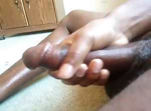 masturbation;big;black;dick,Black;Twink;Solo Male;Big Dick;Gay;Hunks;Amateur;Verified Amateurs Home alone fun...