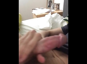 straight;guys;cock;twink;sexy;horny;bed,Solo Male;Gay;Straight Guys;Amateur Stroking my limp...