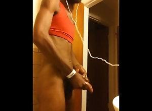 cumshot;bbc;sexy,Solo Male;Big Dick;Gay;Creampie;Cumshot;Verified Amateurs Red Tank