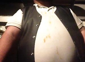 kink;fat;cigar;bear;belly,Solo Male;Gay biker walk clip