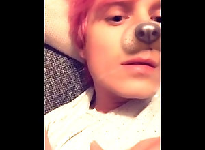 cute;hot;young;mouth;cum;dick;cock;wank;jerk;masturbation;swallow;swallows;tongue;shaved;smooth;snapchat,Twink;Solo Male;Gay;Amateur;Cumshot;Verified Amateurs Pink-Haired Boy...