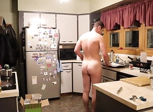 cooking;naked-cooking;naked;nude;nude-cooking;onlyfans;chaturbate,Solo Male;Gay;Amateur;Jock NakedChef: Hoison...