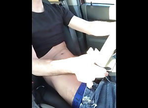 public-masturbation;solo;car-play;cumshot;driving;messy,Solo Male;Gay;Public;Reality;Amateur;Handjob;Verified Amateurs Huge Cumshot...