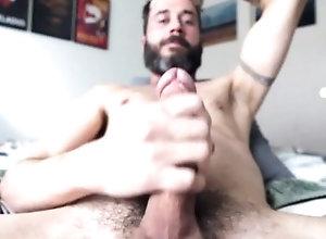 big;cock;cum;balls;beard;daddy,Daddy;Solo Male;Big Dick;Gay;Amateur;Cumshot bearded daddy...