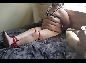 latin;bondage;bdsm;struggling;jack-off;stroking;barefoot;chubby;gay;feet;soles;chubby-bondage;handcuffs;ropes;blindfold;gagged,Latino;Solo Male;Gay;Interracial;Uncut;Cumshot;Chubby Barefoot Chub -...