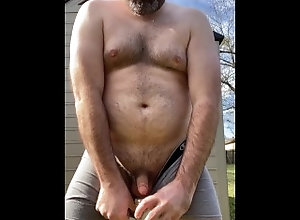 humiliation;moaning;public;piss-drinking;swallow-piss;water-sports;outdoors;masters-orders,Daddy;Fetish;Solo Male;Gay;Bear;Public;Reality;POV;Chubby Rex Mathews...