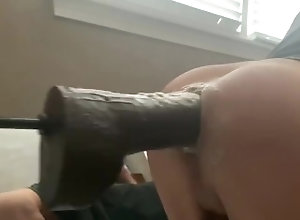 balls;deep;anal;fuckmachine;buried;large;toy;anal;huge;dildo,Solo Male;Gay;Amateur;Jock;Verified Amateurs Taking it balls deep