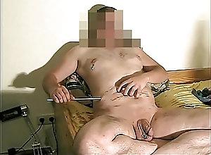 Amateur (Gay);BDSM (Gay);Handjobs (Gay);Masturbation (Gay);HD Gays Edelstahl 10mm