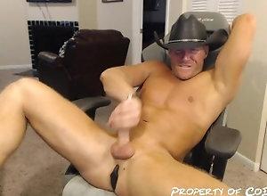 cowboy;ohmibod;lovense;butt;plug;gay;muscle;jock;stud;jerk;cumshot;cum;abs;anal;chaturbate;codgod;jared;nation,Muscle;Solo Male;Gay;Hunks;Straight Guys;Handjob;Jock;Webcam;Cumshot Cowboy Cum Show...