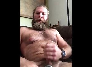 masturbation;masturbate;burly;bear;bro;dude;beating;my;meat;ball;stretcher;bush;cock,Daddy;Solo Male;Gay;Bear;Chubby brothers in bate