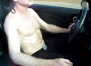 public;outside;daddy;hairy;jerking;driving;gay,Daddy;Solo Male;Gay;Public hot daddy driving...