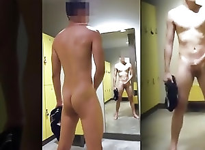 Twinks (Gay);Amateur (Gay);Handjobs (Gay);Locker Rooms (Gay);Masturbation (Gay);HD Gays;In Room;Locker;Gym JERKING OFF IN...
