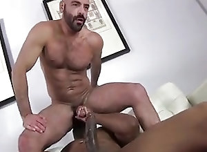 Black Gays (Gay);Gay Porn (Gay);Group Sex (Gay);Muscle (Gay) Cummin' inside