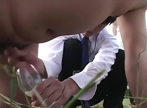 public;outside,Japanese;Gay;Public Gay Milk Ranch