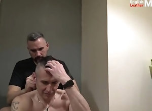 alpha-male;alpha;master;slave;haircut;haircut-fetish;headshave;fetish-headshave;shaved-head;piss;piss-drinking;piss-shower;piss-mouth;piss-slave;dilf;daddy,Daddy;Muscle;Fetish;Group;Gay;Hunks;Amateur;Jock Shaving off my...