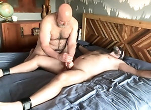 fur;hairy;beard;dad;dilf;bear;bush;pubes;man;musk;hairy-chest;big-cock,Blowjob;Big Dick;Group;Gay;Bear;Amateur;Handjob;POV Two Hairy Dads...
