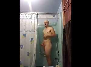shower;masturbation;shower;masturbation;voyeur,Solo Male;Gay Shower Time