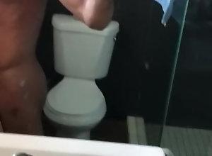 big;black;dick;interracial;palm;springs;ebony;head,Black;Gay Bathroom head