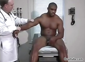physical;male-physical;medical-examination;doctor;black;muscle,Black;Muscle;Fetish;Gay;Hunks;Handjob;Jock;Cumshot Pro-Athlete Exam-...