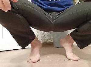 foot-fetish;pee;piss;peeing;pissing;feet-pee;feet-piss;foot-pee;jeans-pee;male-pee-desperation;male-pissing,Solo Male;Gay;Straight Guys;Amateur;POV;Chubby;Feet;Verified Amateurs Desperate male...