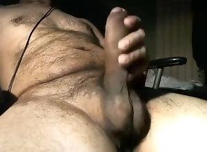 daddy;hunk;bigdick,Black;Fetish;Solo Male;Big Dick;Gay;Bear;Amateur;Handjob;Chubby Solo bear...