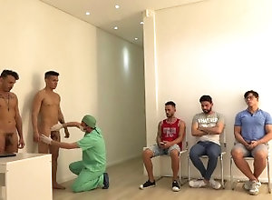 physical;physical-exam;male-physical-exam;male-physical;college;doctor;doctor-exam;medical;medical-fetish;medical-exam;patient;public;physical-examination;check-up;health-check;inspection,Twink;Latino;Muscle;Fetish;Group;Gay;College;Straight Guys;Public Group male...