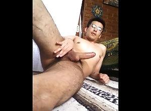 latin;vergas-grandes;latinos;jovenes;gay-porn;gay;mexicanos;chacal;tatuados,Latino;Fetish;Solo Male;Gay;Handjob Activo dotado...
