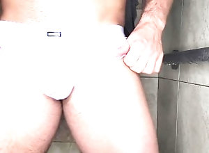 jock;bulge;thong;wet-bulge;wet-dick;small-cock;mens-underwear;sexy-underwear;straight-guy;in-the-shower;shower;playing-with-balls;playing-with-myself;dripping-wet;massive-cock;huge-bulges,Massage;Muscle;Solo Male;Big Dick;Gay;Hunks;Straight Guys;Jock;Verified Amateurs Jock Plays with...