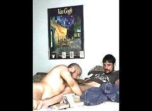 amateur;blowjob,Twink;Latino;Blowjob;Big Dick;Gay;Handjob;Uncut;Chubby Blowing tatted guy