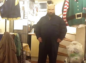 kink;fat;pig;hood;boiler;suit;belly;chub;tubbs,Solo Male;Gay piggy paddin clip