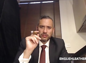 european;formal;suit;shoes;socks;cigar;smoking;smoke;handsome;master;alpha;shirt,Euro;Daddy;Muscle;Solo Male;Gay;Amateur;Feet Me in My sharp...