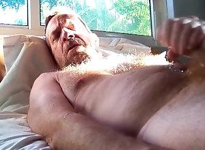 hairy;hairyartist;daddy;cumshot;big-cock,Daddy;Fetish;Solo Male;Big Dick;Gay;Bear;Mature;Cumshot;POV Cum for you 5 8 2021