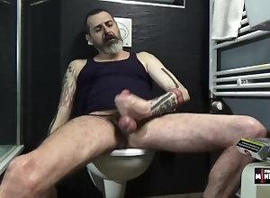 european;jerking;smoking;tattoo;ilovemypenis;studiomineshaft;berlin;masturbation;masturbate;bate;penis;cock;male;man,Euro;Daddy;Solo Male;Gay;Bear;Verified Amateurs Watching an Al...