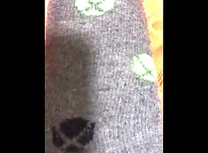 cock;balls;socks;solo;horny,Solo Male;Gay;Feet Check Out My...