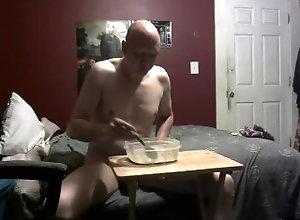 kink;piggy;feeding,Solo Male;Gay piggy feeding...