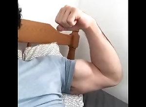arabic-muscle;arab-muscle;arab-bicep-flex,Fetish;Solo Male;Big Dick;Gay;POV Arab Muscle...