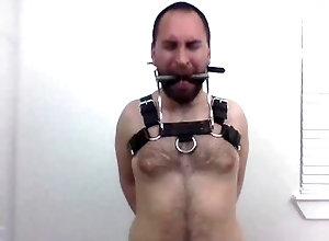 latin;bondage;self-bondage;bdsm;leather;gagged;inflatable-butt-plug;drooling;hairy-chest;harness;scruffy-guy;edging;ponyplay;horny-stud;bit-gag;struggling,Latino;Fetish;Solo Male;Gay;Hunks;Straight Guys;Cumshot;Verified Amateurs Bitgagged...