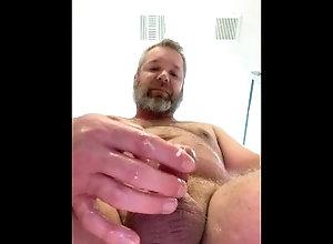 cumshot;daddy-bear;pov;bear,Daddy;Solo Male;Big Dick;Gay;Bear;Handjob;Cumshot;Chubby;Tattooed Men POV of daddy's...