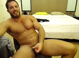 muscle;muscle;solo;jackoff;hairy;sexy;hunk;straight;pubes,Muscle;Solo Male;Gay;Hunks;Straight Guys;Jock;Webcam Just Casually...