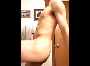 strip-dance;naked-guy;big-dick,Twink;Solo Male;Gay Seductive dancing...