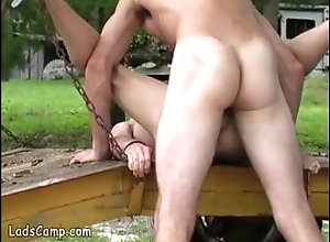 ladscamp;twinks;anal;outdoor,Twink;Gay Young gay sex...